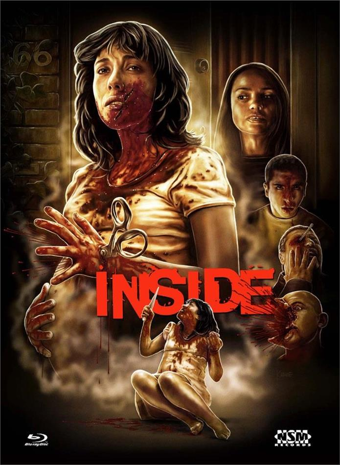 Inside (2007) (Cover F, Limited Collector's Edition, Mediabook, Blu-ray + DVD)