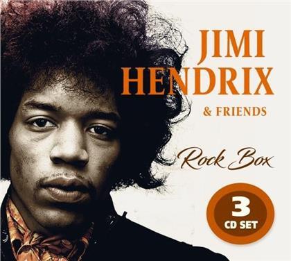 Jimi Hendrix - Rock Box - Jimi Hendrix & Friends (3 CDs)