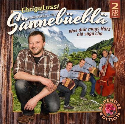 Chrigu Lussi mit em Schwyzerörgeli-Trio Sännebüebl - Was diär meys Härz nid sägä cha (Alperose-Edition) (2 CDs)