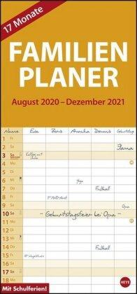 17-Monats-Familienplaner Kalender 2021