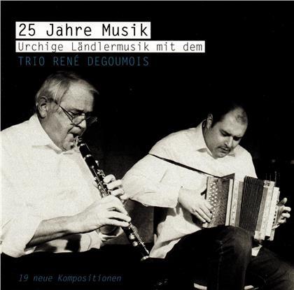 Trio René Degoumois - 25 Jahre Musik