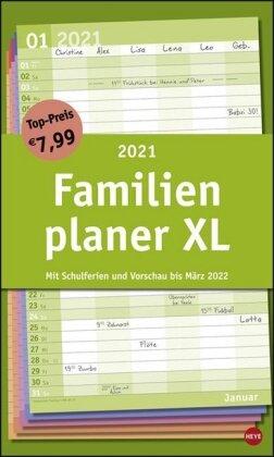 Basic Familienplaner XL Kalender 2021
