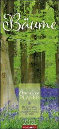 Bäume Familienplaner Kalender 2021