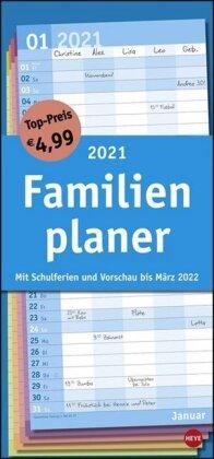 Basic Familienplaner Kalender 2021
