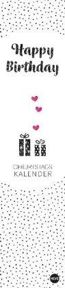 Stamp Art Geburtstagskalender long Kalender 2021