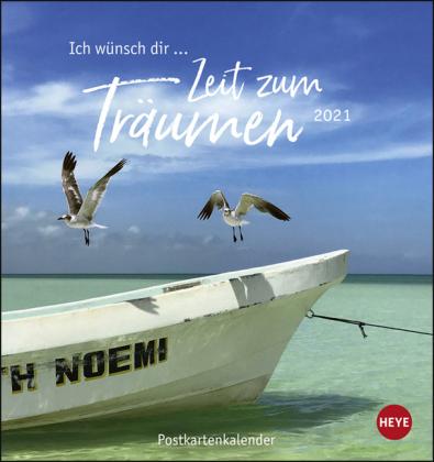 Ich wünsch' dir … Zeit zum Träumen Postkartenkalender Kalender 2021