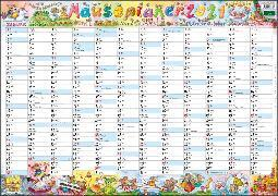 Wandplaner Wilde Mäuse Kalender 2021