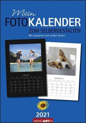 Fotokalender zum Selbergestalten 23 x 33 cm Kalender 2021