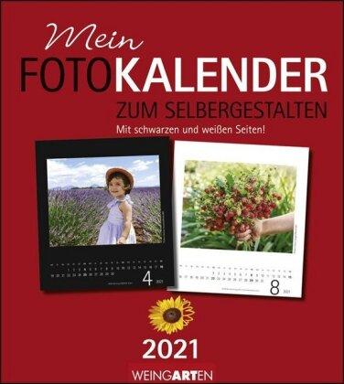Fotokalender zum Selbergestalten 21,5 x 24 cm Kalender 2021