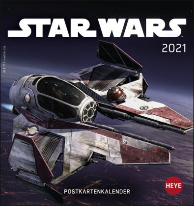 Star Wars Postkartenkalender Kalender 2021