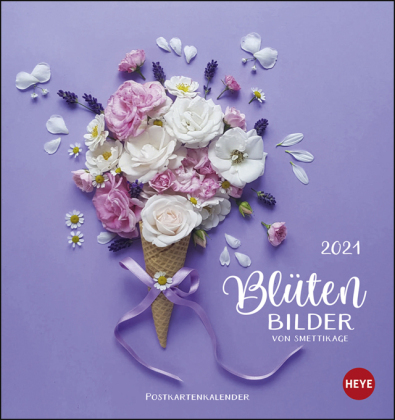smettikage - Blütenbilder Postkartenkalender Kalender 2021