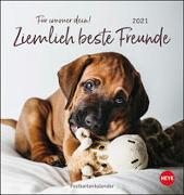 Ziemlich beste Freunde Postkartenkalender Kalender 2021