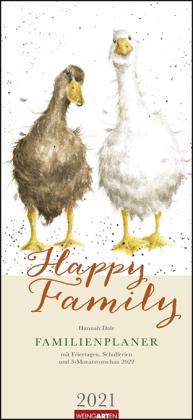 Happy Family Familienplaner Kalender 2021