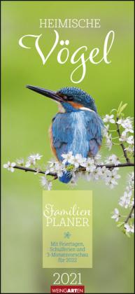 Heimische Vögel Familienplaner Kalender 2021