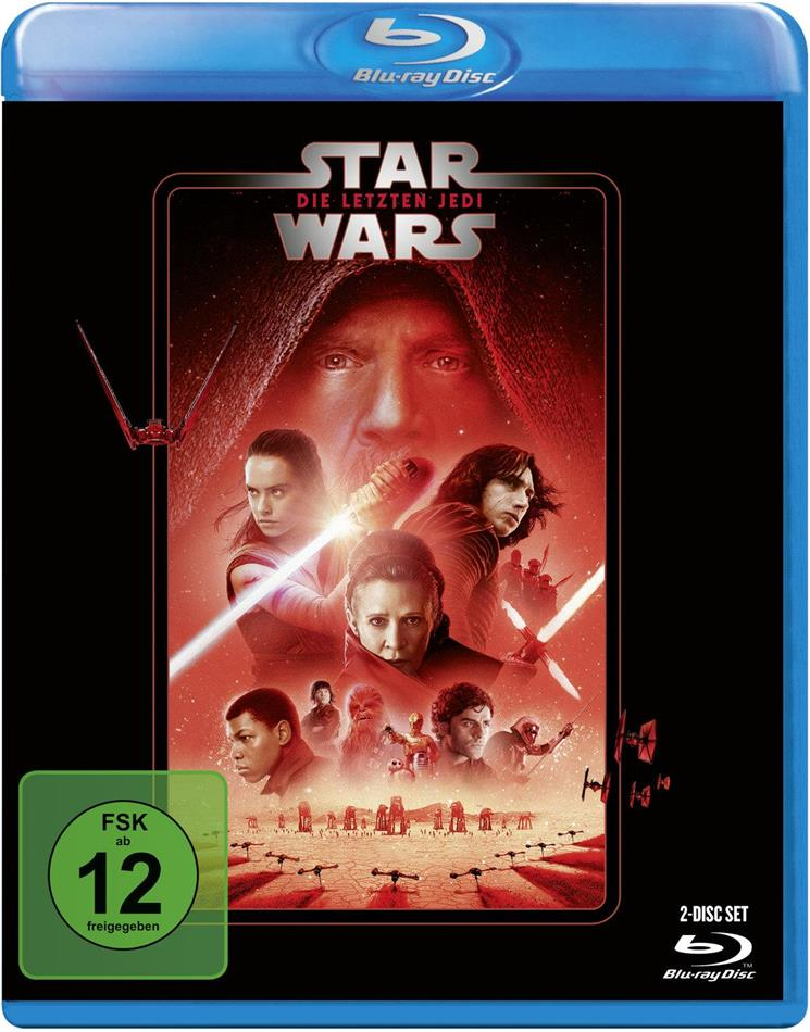 Star Wars - Episode 8 - Die letzten Jedi (2017) (Line Look, Neuauflage, 2 Blu-rays)