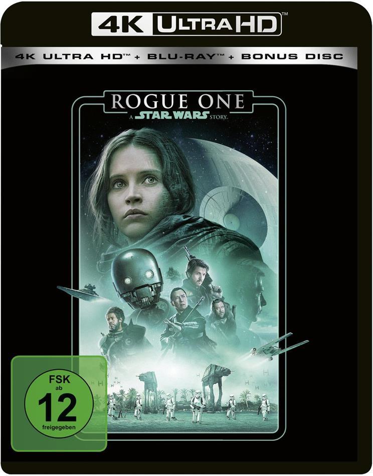 Rogue One - A Star Wars Story (2016) (Line Look, 4K Ultra HD + 2 Blu-rays)