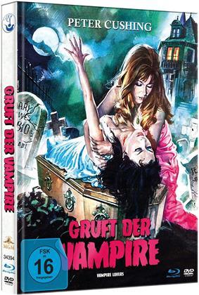 Gruft der Vampire (1970) (Mediabook, Blu-ray + DVD)