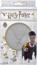 Harry Potter - Harry Potter Deathly Hallows Necklace and Stud Earring Set