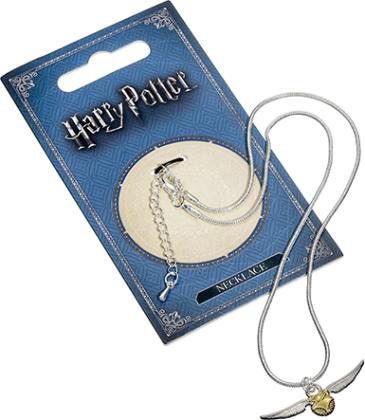 Collier en argent - Harry Potter - Vif d'or - 30 cm