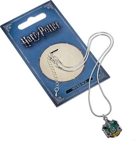 Collier en argent - Harry Potter - Armoirie de Serpentard - 30 cm