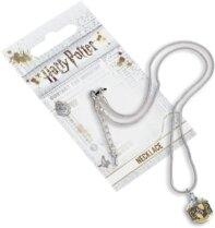 Collier en argent - Harry Potter - Armoirie de Poufsouffle - 30 cm
