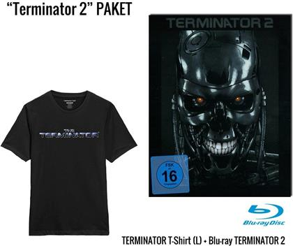 Terminator 2 - T-Shirt Geschenkset (1991) (Steel Edition, + T-Shirt L, Limited Edition)