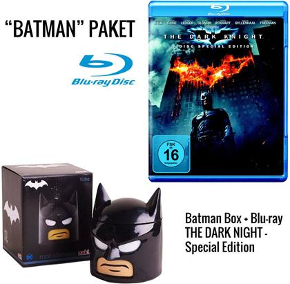 Batman - The Dark Knight - Geschenkset mit Lunchbox Batman-Head (2008)