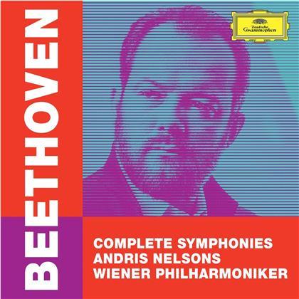 Ludwig van Beethoven (1770-1827), Andris Nelsons & Wiener Philharmoniker - Complete Symphonies (5 CDs + DVD)