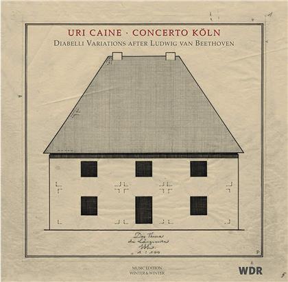 Uri Caine & Ludwig van Beethoven (1770-1827) - Diabelli Variationen Nach Beethoven - Diabelli Variations After Beethoven (2 LPs)