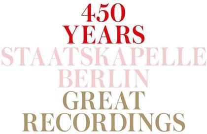 Staatskapelle Berlin - 450 Jahre Staatskapelle Berlin (15 CDs)