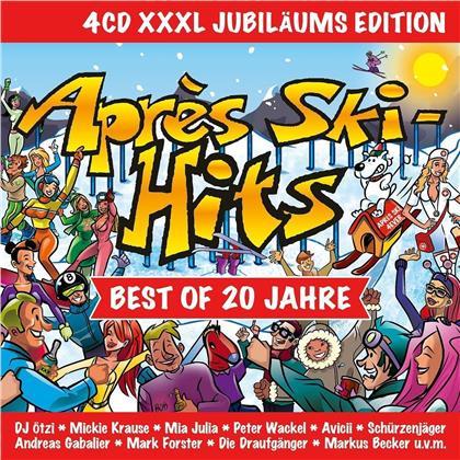 Apres Ski-Hits - Best Of 20 Jahre (XXXL Jubiläumsedition, 4 CDs)