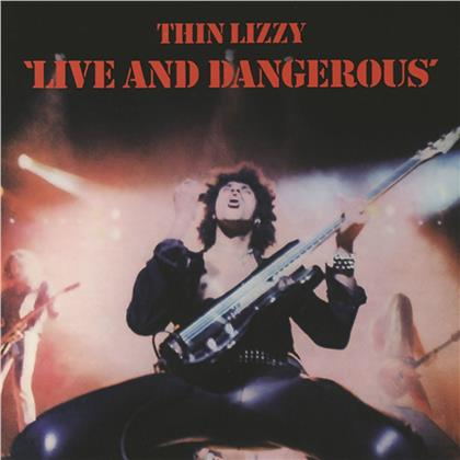 Thin Lizzy - Live And Dangerous (2020 Reissue, Universal, 2 LPs)