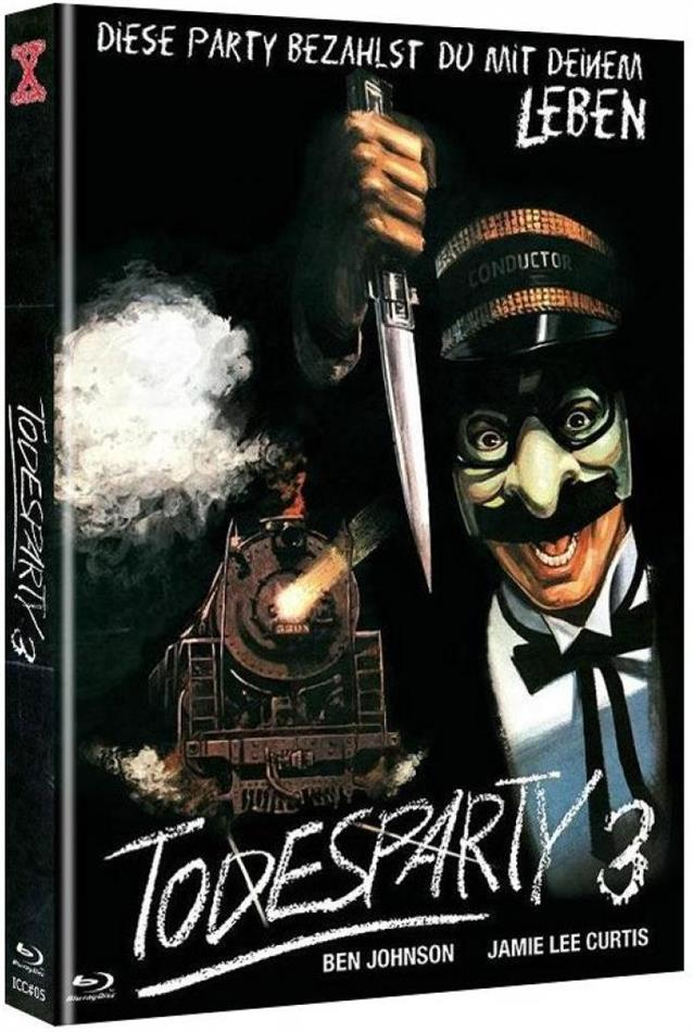 Todesparty 3 (1980) (Cover D, Limited Edition, Mediabook, Blu-ray + DVD)