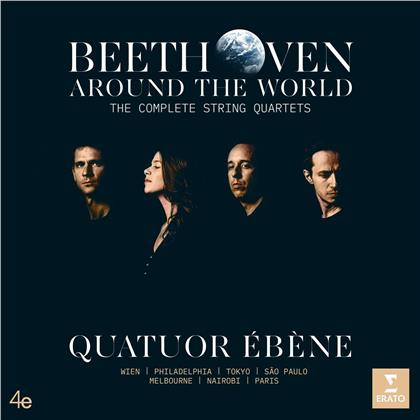 Quatuor Ébène & Ludwig van Beethoven (1770-1827) - Beethoven Around the World - Complete String Quartets - Sämtliche Streichquartette (7 CDs)