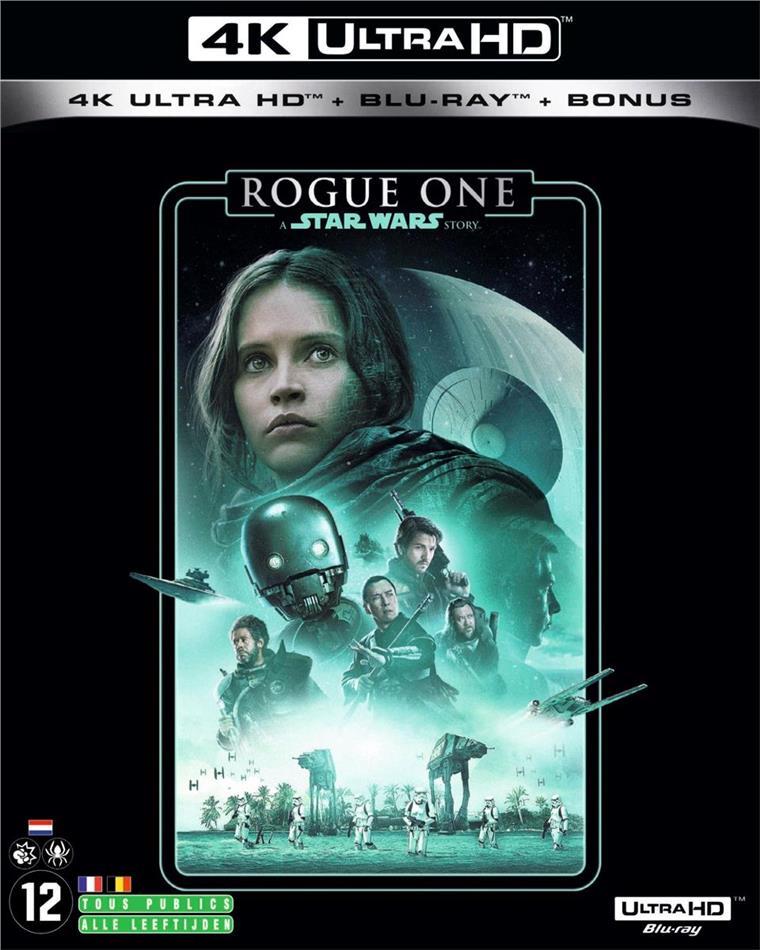 Rogue One - A Star Wars Story (2016) (Line Look, 4K Ultra HD + 2 Blu-ray)