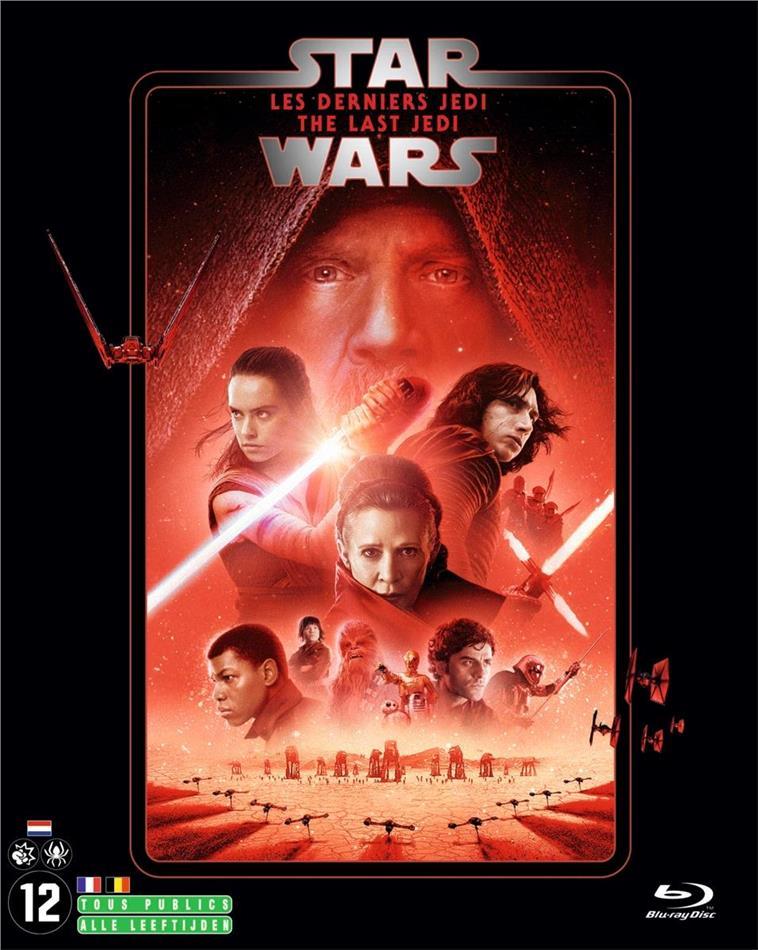 Star Wars - Episode 8 - Les derniers Jedi / The Last Jedi (2017) (Line Look, Riedizione, 2 Blu-ray)
