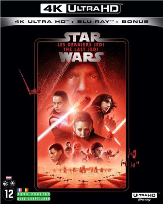 Star Wars - Episode 8 - Les derniers Jedi - The Last Jedi (2017) (Line Look, Neuauflage, 4K Ultra HD + 2 Blu-rays)