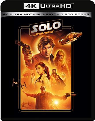 Solo - A Star Wars Story (2018) (Line Look, Riedizione, 4K Ultra HD + 2 Blu-ray)