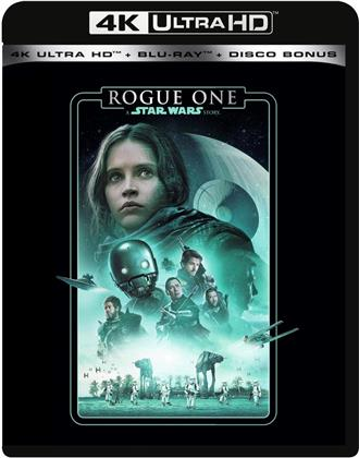 Rogue One - A Star Wars Story (2016) (Line Look, 4K Ultra HD + 2 Blu-ray)