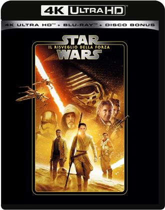 Star Wars - Episodio 7 - Il Risveglio della Forza (2015) (Line Look, 4K Ultra HD + 2 Blu-rays)