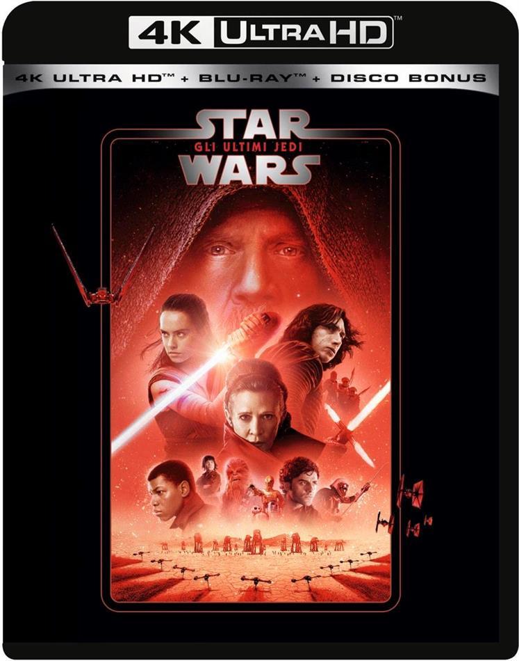 Star Wars - Episode 8 - Gli ultimi Jedi (2017) (Line Look, Neuauflage, 4K Ultra HD + 2 Blu-rays)