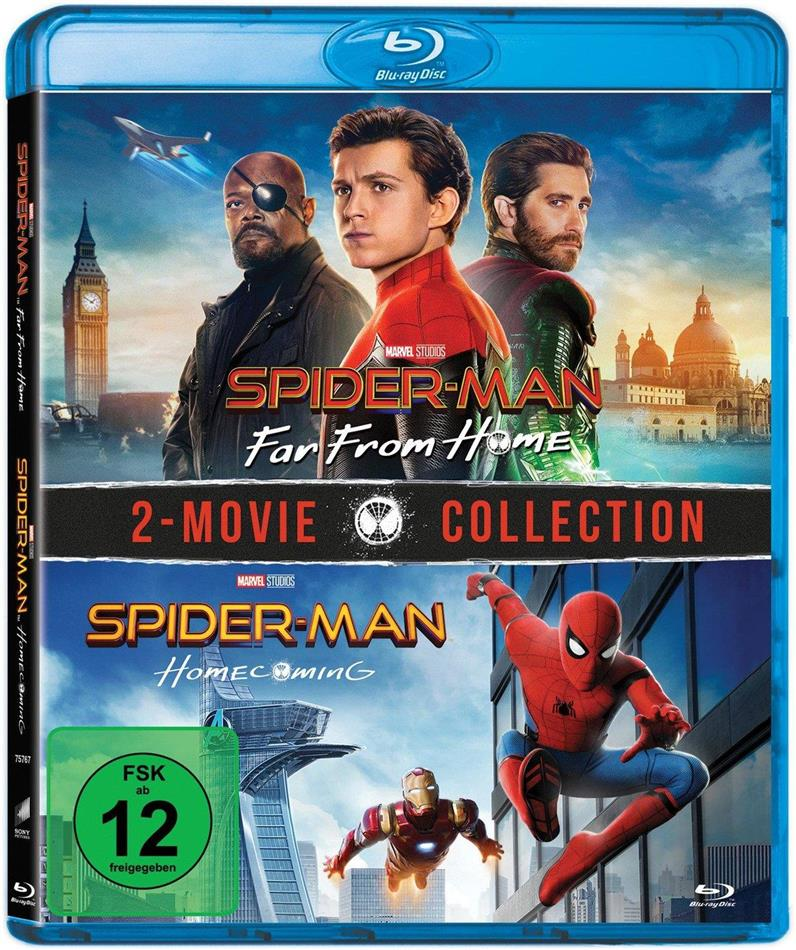 Spider-Man: Far From Home / Spider-Man: Homecoming - 2-Movie Collection (2 Blu-rays)