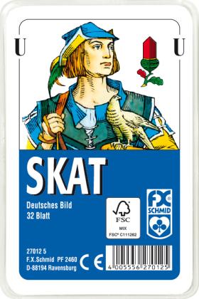 Skat - deutsches Bild (Spielkarten)