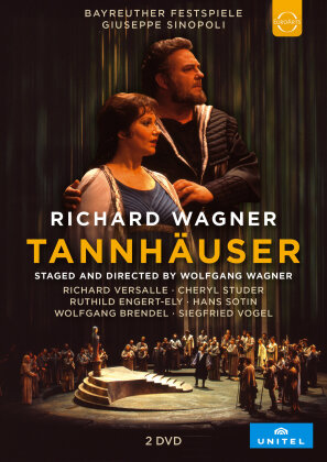 Bayreuther Festspiele Orchestra, Giuseppe Sinopoli, … - Wagner - Tannhäuser (Unitel Classica, 2 DVDs)