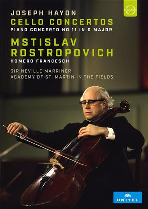 Academy Of St Martin In The Fields, Neville Sir Marinner & Mstislav Rostropovoch - Haydn - Cello Concertos / Piano Concerto No 11 in D Major (Unitel Classica)