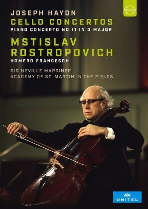 Academy of St Martin in the Fields, Neville Sir Marinner & Mstislav Rostropovitsch - Haydn - Cello Concertos / Piano Concerto No 11 in D Major (Unitel Classica)