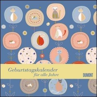 Immerwährender Geburtstagskalender – Little Cosmos – Turnowsky – Quadrat-Format 24 x 24 cm