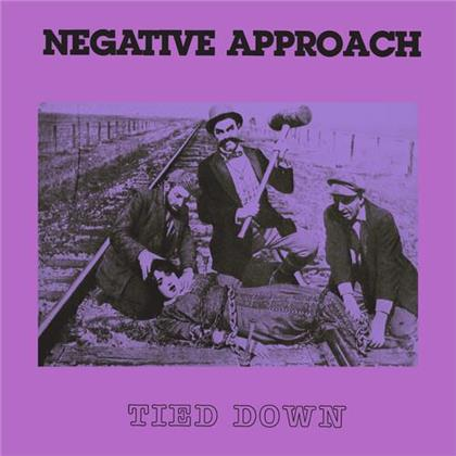 """Negative Approach - Tied Down (2020 Reissue, Colored, 7"""" Single)"""