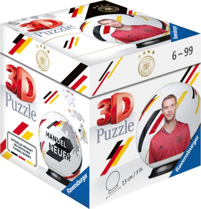 DFB-Nationalspieler Manuel Neuer. 3D Puzzle 54 Teile