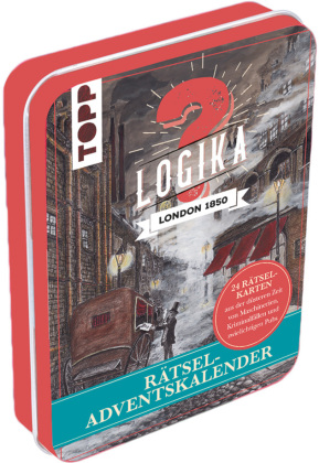 Rätsel-Adventskalender - Logika London 1850
